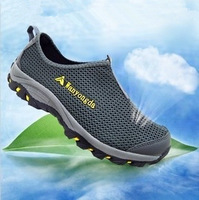 Wan Wing Factory Direct breathable mesh shoes Jinjiang sports shoes mesh shoes outdoor shoes