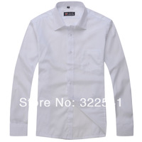 Fashion Official Wear Work cloth for Male/FenMale Customize Cotton Plus Size outerwear White/Black/Blue/Pink Long-Sleeve Shirt
