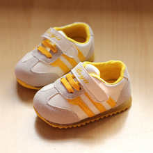 2013 hot sale baby sneaker baby boys girls shoes kids running shoes sport sneaker children footwear with lighting(China (Mainland))