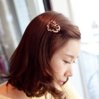 Accessories hair accessory heart side-knotted clip love hairpin hair pin fringe side-knotted clip hair accessory