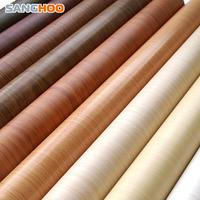 Pvc wallpaper kitchen cabinet wardrobe furniture wood paste series