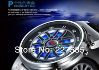 Free shipping TVGX6 wild fast cars LED digital watch men's watch waterproof outdoor sports multi-function watch