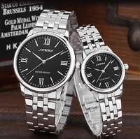 new 2014 Lovers table trend fashion all-match male watch waterproof ladies watches mens casual quartz spermatagonial,free
