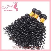 Brazilian Virgin Hair 5A Grade Top Quality Unprocessed Virgin Hair GALI Queen Hair Deep Curly Wave 4pcs/Lot DHL Free Shipping
