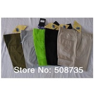 10pcs/lot Wholesale Solid colour Elastic  Trousers/ Full length J  L   pants men (2001 style)