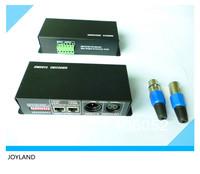 DMX512 decoder 4CH for RGB LED strip 12V-24V DC Free Shipping DC12-24V 4 Amp 3 Channel LED DMX Controller/Decoder 30pcs/lot