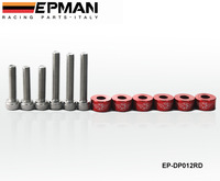 Metric Cup Washer Kit EOMAN 6mm (VTEC Solenoid)for Honda B-Series Engines EP-DP012 (DEFAULT COLOR IS RED)
