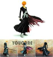 Bleach Japanese Anime Cartoon Bleach Kurosaki Ichigo action figure PVC Toys Doll Free Shipping