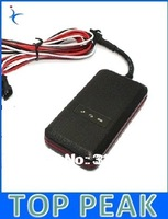 Small waterproof  Cut off fuel / Stop engine Motor tracker with / GSM car SIM alarm Free Shipping
