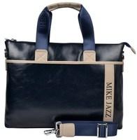 New 2014 fashionable brand Men's business briefcase Leisure fashion single shoulder bag Contrast color handbag MBBHB00703