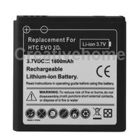 1800mAh Mobile Phone Battery for HTC EVO 3D/ Sensation XL/ G14 / X515m/ G17 Sensation XE Z715e/ G18