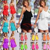 S,M,L,XL Braces dress!2014 Women Fashion Braces dress Swimsuit Ladies' Swimwear Beachwear Swimwear Bikini Cover Ups Playsuits