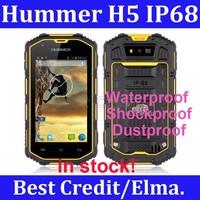 "Original Hummer H5 IP68 4.0"" Waterproof Shockproof Dustproof Android4.2 512M RAM 4G ROM GPS WCDMA 3G Outdoor phone Russian"