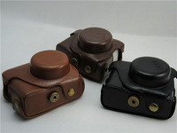 New arrival Leather digital Camera pouches Case for For Canon  digital camera G1X , Restore ancient ways camera holster
