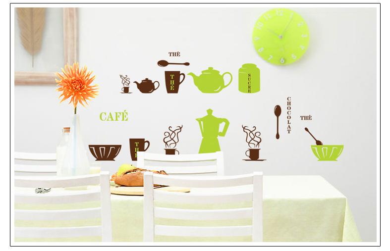 Keuken Decoratie Folie : Wall Stickers Decoration for Kitchen