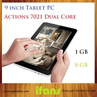 New Cheap Android 4.2 Tablet PC Action 7201 9 inch Tablet PC 1GB RAM 8GB ROM HDMI WIFI OTG 10 Point Touch