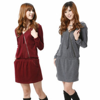 wholesale 2012 women's skirt slim long-sleeve knitted one-piece dress 8002