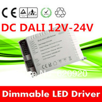 48W 4channels 12V-24V Constant Voltage DC LED DALI Driver DALI dimmer 2000ma