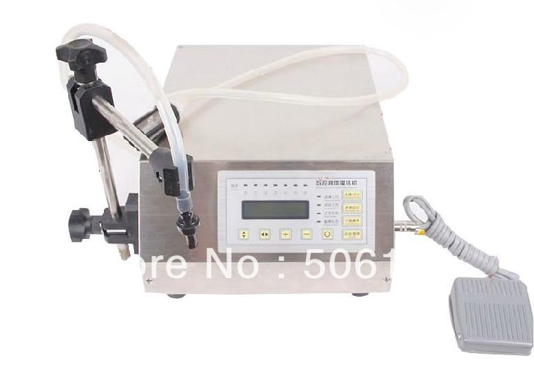 Free ship Digital Control Pump Drink Water Liquid Filling Machine GFK-160 5-3500ml(China (Mainland))