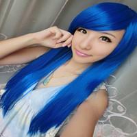 Color Harajuku cosplay wig cos wig womenStage Performance