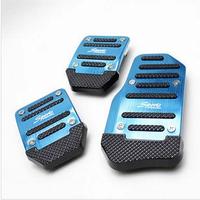 Car aluminum alloy slip-resistant pedal manual general throttle pedal supplies