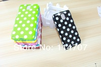 New Arrival! Fashion Polka Dot TPU Soft Cover Dots case For samsung galaxy Note III N9000 Note 3 , Free shipping