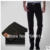 2014 new arrival Men fashion slim straight jeans Free shipping 2N1