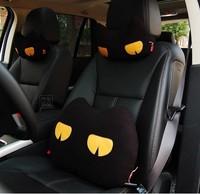 Lovely  cartoon Headrest Neck Pillow Car Auto Seat cover Head Neck Rest Cushion Headrest Pillow cute Car decoration