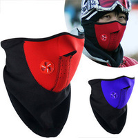 Bicycle care face mask cs wigs windproof thermal face mask wigs ride mask