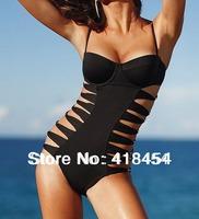 New Women's Sexy Black   Padded   Swimwear Swimsuit Bikini