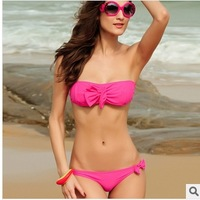 top quality sexy design women's bikinis set bowknot fission swimwear swimsuit(15)