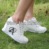 Free Shipping Hidden Wedge Heels Fashion Casual Women's Elevator Shoes Sports Shoes Women's Casual Wear  Increasing Sneakers