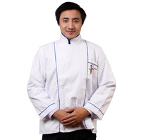 C102 2012 new arrival japanese style long-sleeve cook suit work wear