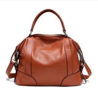 100% genuine leather bag Spring women leather handbag 2015 new bolsas hot crossbody bag cowhide women messenger bag shoulder bag