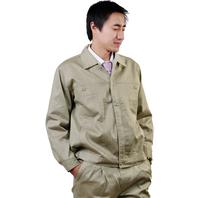405 men's autumn long-sleeve workwear work wear set mechanical protective clothing