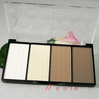 makeup face Four Color Pressed Powder Highlight Contour Shading Powder foundation Cosmetic Make-up A086