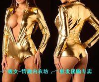 Women's sexy underwear gold uniforms 9068 lingerie