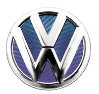 carbon fiber car stickers golf 6 emblem volkswagen passat cc