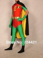 Fantastic Dress!!!!! Lycra Spandex Halloween Party Zentai Costume Gift Nightwing S-XXL