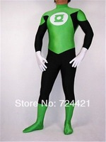 New Dress Wonderful lycra zentai superhero costume green lantern-Wholesale Price S-XXL