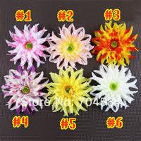 Free shipping 12cm big size Silk Daisy flower heads /DIY corsage flower head 50pcs/lot