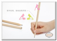 Free Shipping EMS 240sets Birds Shaped Note Clip Pen Cap With Wood Pencils Woodpecker Paperweight memo pecker Pencils Stationery