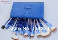 Free DHL (100set/lot)High quality Original Make-Up For You Professional 24pcs Makeup Brush Set Kit Make up Brushes Set Case