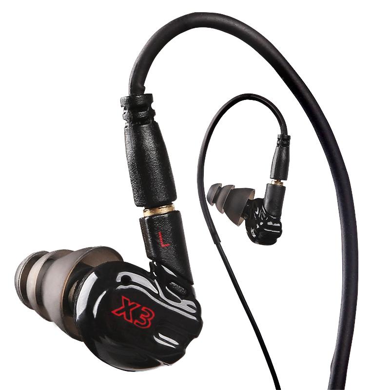 Moxpad X3 спорт спортивные наушники запуск с микрофоном для MP3 плеер, mp4, мобильные телефоны в ухе наушник звук изоляция наушники