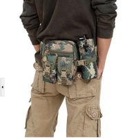 2014 New Purse Camouflage Outdoor Sports Climb Fishing Travel Multifunction FreeShipping Military industry Riding Waterproof Bag