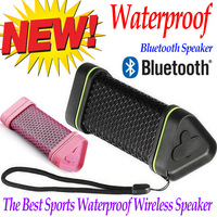 2014 Wireless portable waterproof speakers bluetooth handsfree with bulit-in microphone for  iphone5s iphone 4s