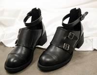 Partysu2014 spring thick heel cutout fashion vintage fashion single shoes
