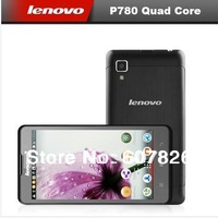 Lenovo P780 Quad core android phones 5 inch IPS 1280x720 MTK6589 1.2GHz 1GB RAM 4GB 8.0MP Camera 4000mAh battery