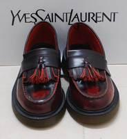 Dr fashion vintage tassel HARAJUKU platform flat martin genuine leather upper single shoes