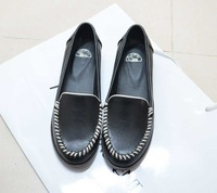 Ulzzang2014 spring preppy style flat doll knitted single shoes